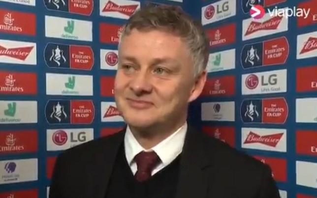 Manchester United manager Ole Gunnar Solskjaer has hit back again at Robin van Persie