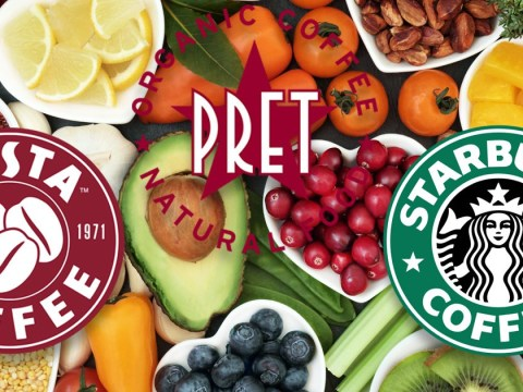 What is vegan in Pret a Manger, Costa and Starbucks?