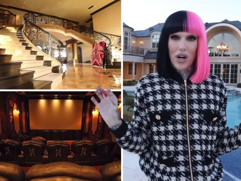 Jeffree Star gives video tour of his home in the Hidden Hills and basically it's ridiculously huge