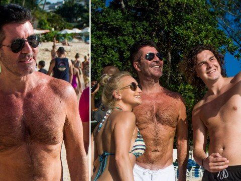 Simon Cowell thinks 'wow' looking in the mirror after losing 4 inches with healthy diet