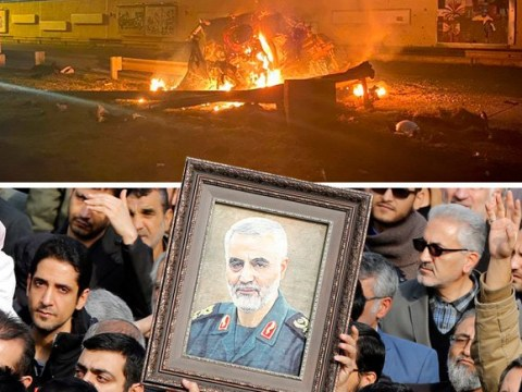 UK 'knew nothing' about Donald Trump's plan to assassinate general Soleimani
