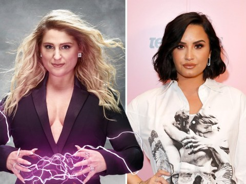 The Voice's Meghan Trainor reveals unexpected moment backstage with Demi Lovato at Grammy Awards