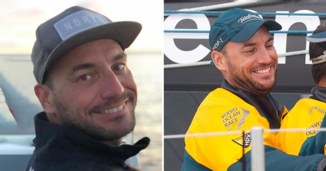 Australian round-the-world sailor Zane Gills, 37, from Lymington, Hampshire, who died in an accident on a boat in Barcelona, Spain ahead of New Year's Eve
