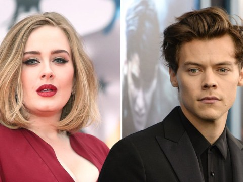 Adele races into sea as she enjoys idyllic Anguilla getaway with Harry Styles
