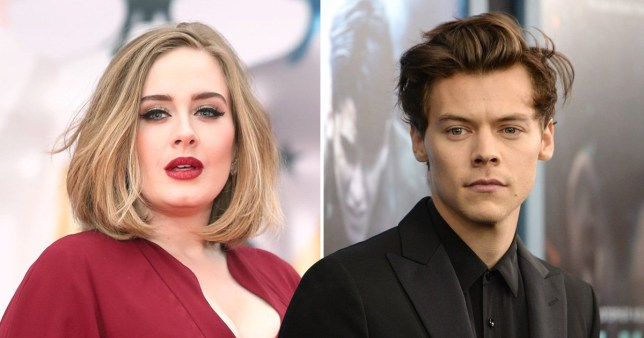 Adele and Harry Styles