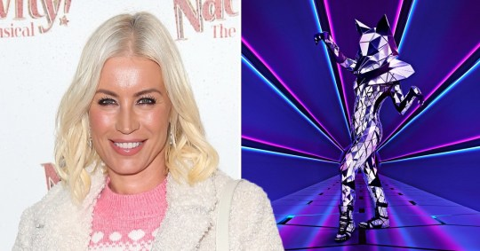 Denise Van Outen is Fox on The Masked Singer