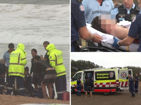 Two struck by 'terrifying' lightning in Sydney within 10 minutes of each other