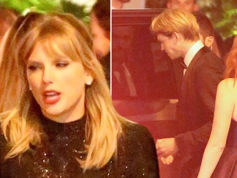 Taylor Swift and Joe Alwyn make stealth exit from Golden Globes after-party following cosy moment during ceremony