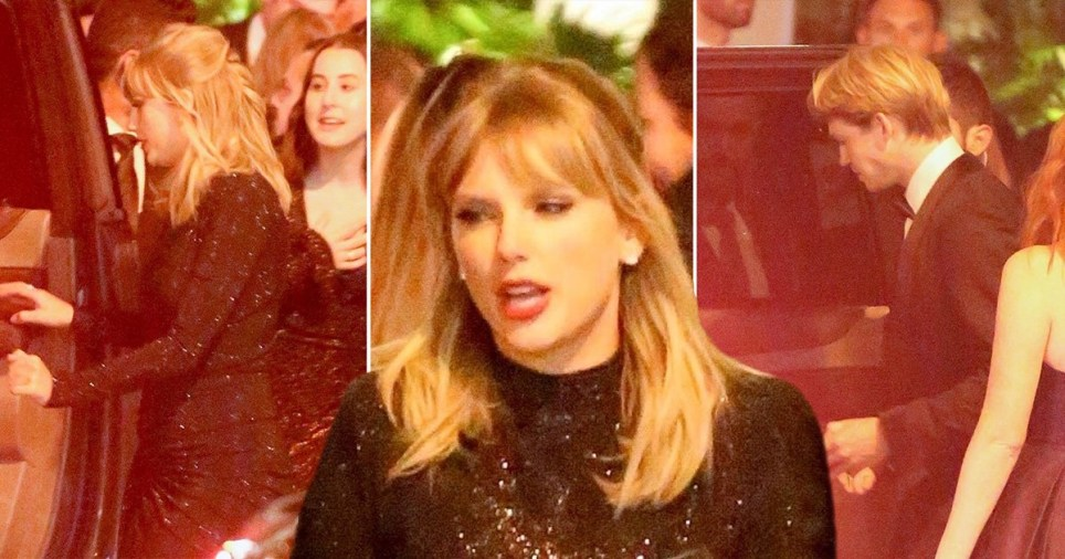 Taylor Swift and Joe Alwyn head to a Golden Globes afterparty