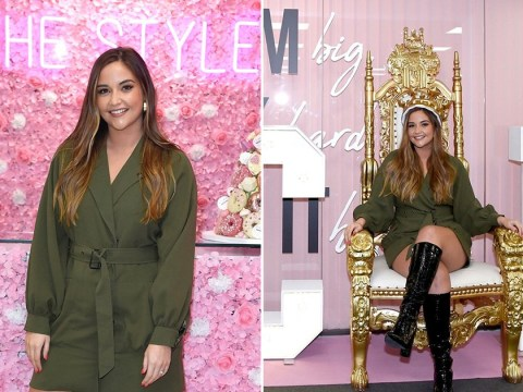 Jacqueline Jossa fangirls over her own billboard while milking her Queen status to announce In The Style collab