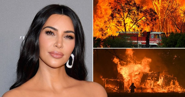 Kim Kardashian Australian wildfires