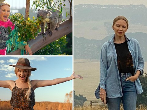 Kylie Minogue's Tourism Australia advert scrapped amid bushfires as she donates $500,000 to firefighting efforts