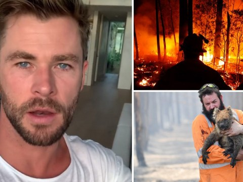 Avengers' Chris Hemsworth shares emotional plea as he donates $1m amid Australian bushfires after 24 people are killed
