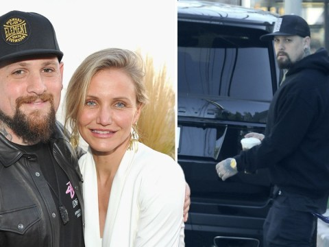 New dad Benji Madden steps out on coffee run after welcoming first child with Cameron Diaz