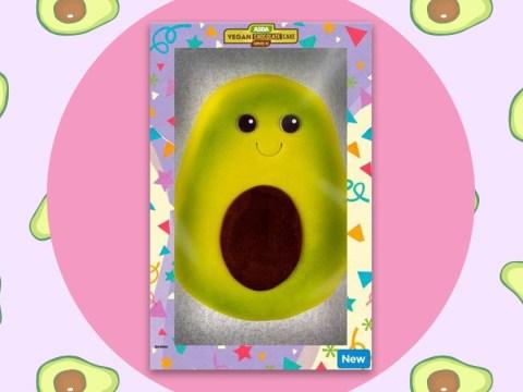 Asda is selling an adorable vegan avocado-shaped cake