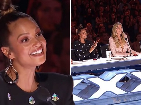Alesha Dixon huge hit on America's Got Talent The Champions as she gets 'emotional' reuniting with Simon Cowell
