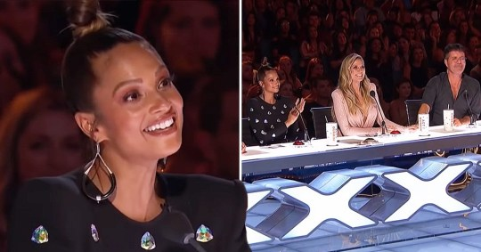 Alesha Dixon on America's Got Talent