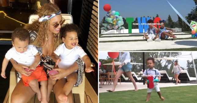 beyonce shares rare footage of rumi and