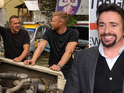 The Grand Tour's Richard Hammond congratulates Paddy McGuinness and Freddie Flintoff for saving Top Gear – even if Jeremy Clarkson won't