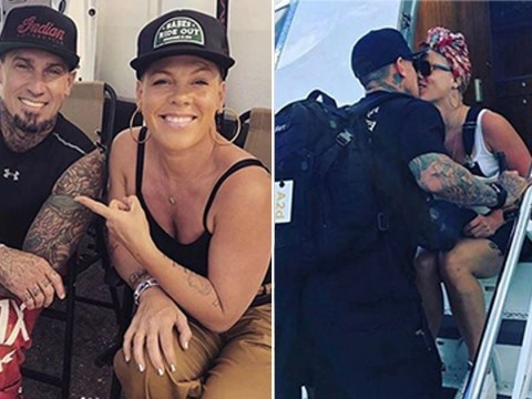 Pink and Carey Hart shower each other with love to celebrate their 14th wedding anniversary