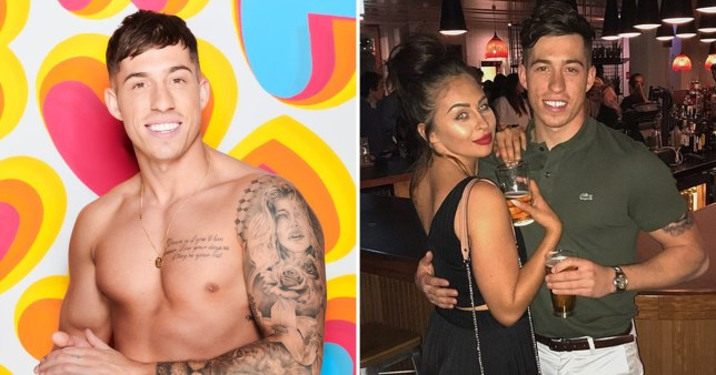 Love Island Winter's Connor Durman and ex