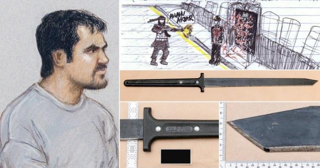 Terror charge for returning defendant
