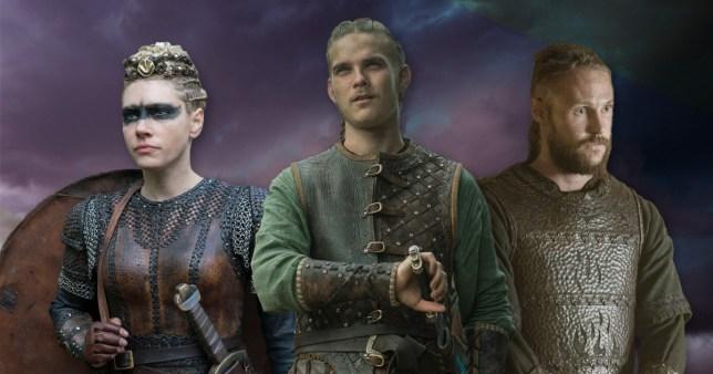 Vikings Katheryn Winnick as Lagertha