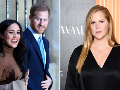 Amy Schumer is 'stepping down from royal duties' just like Prince Harry and Meghan Markle