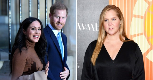 Meghan Markle, Prince Harry and Amy Schumer