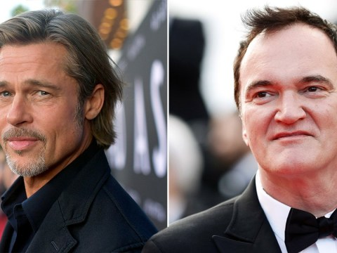 Brad Pitt jokes Quentin Tarantino 'is the only guy he knows who needs cocaine to stop talking'