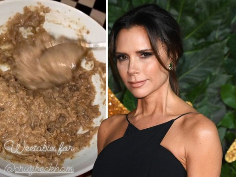 Victoria Beckham burns her son's Weetabix and we're in awe