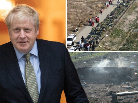 Boris Johnson suggests Iranian missile downed Ukrainian plane killing four Brits