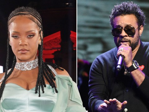 Rihanna's rep denies asking Shaggy to 'audition' for a spot on her new album: 'It's not a talent show'