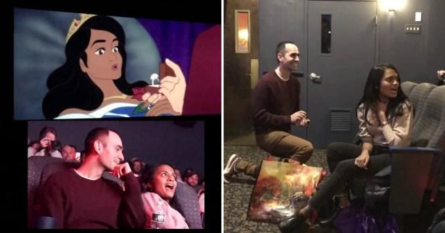 Amazing Disney Sleeping Beauty proposal