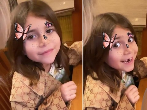Kourtney Kardashian's daughter Penelope, 7, has a $1,500 Gucci coat and we're not jealous honestly