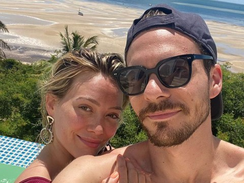 Hilary Duff and husband Matthew Koma look utterly smitten as they enjoy South African honeymoon