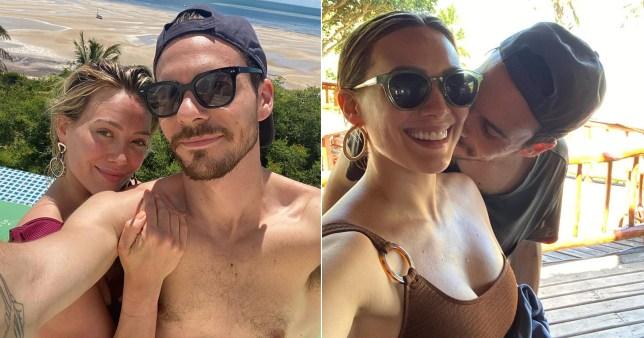 Hilary Duff and husband Matthew Koma