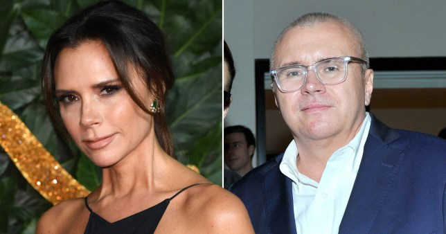 Victoria Beckham and Ed Filipowski