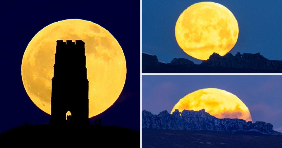 'Wolf Moon' lunar eclipse delights skygazers across the UK