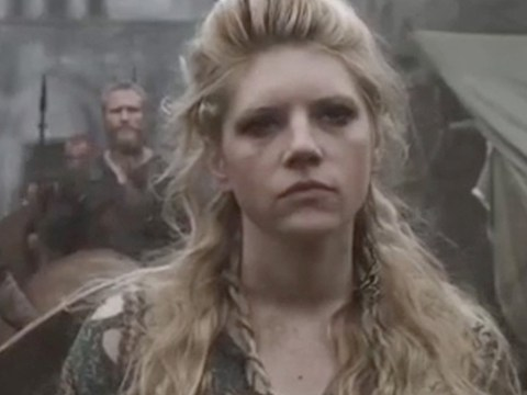 Vikings' Katheryn Winnick explains how knowing Alexander Ludwig's backstory helped her direct