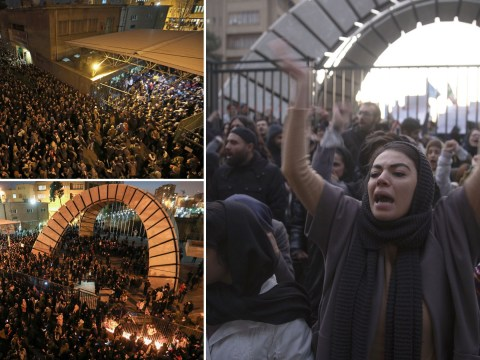 Protesters call for Supreme Leader to resign as Iran finally admits to downing airliner