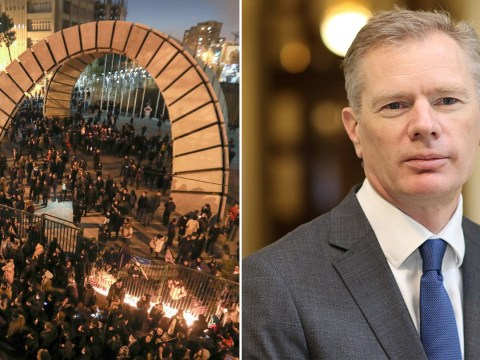 Britain's ambassador to Iran arrested during protests in Tehran