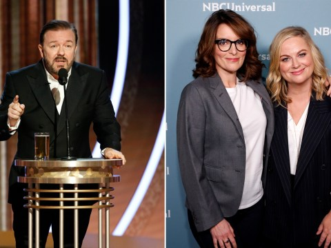 Tina Fey and Amy Poehler will reunite to host Golden Globes in 2021 after Ricky Gervais monologue