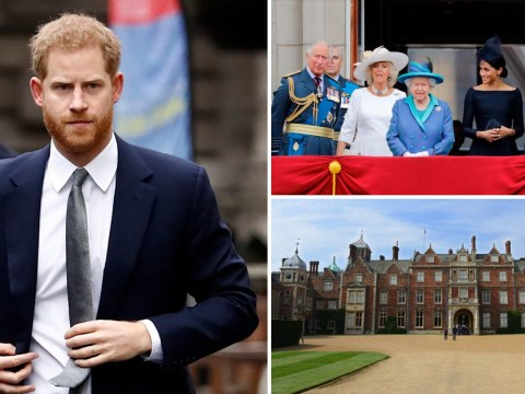 Harry attends 'crisis summit' with Queen, William and Charles at Sandringham