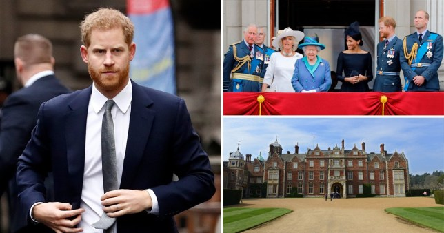 Prince Harry will thrash out his future with senior royals (Picture: AFP, Getty)