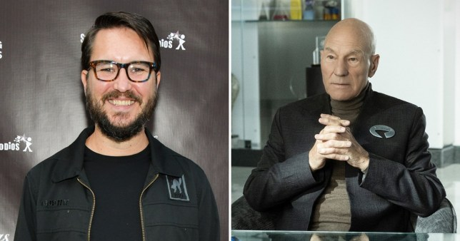 Wil Wheaton and Picard