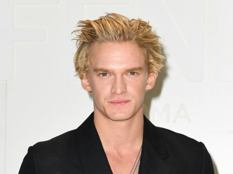 Cody Simpson hangs out at Fendi show in Milan as girlfriend Miley Cyrus calls him the 'greatest of all time'
