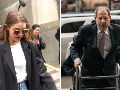 Gigi Hadid leaves court as model ends up as potential juror in Harvey Weinstein rape trial