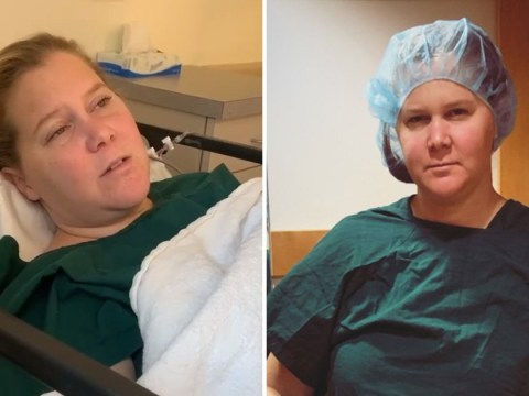 Amy Schumer gives drowsy update on IVF treatment journey as she documents egg 'retrieval day'
