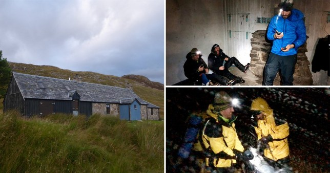 Mountain Rescue Team Cairngorms and Storm Brendan